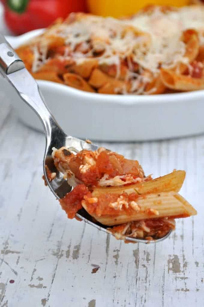 Lightened Up Chicken Penne Pasta 4