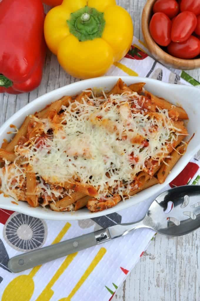 Lightened Up Chicken Penne Pasta 5