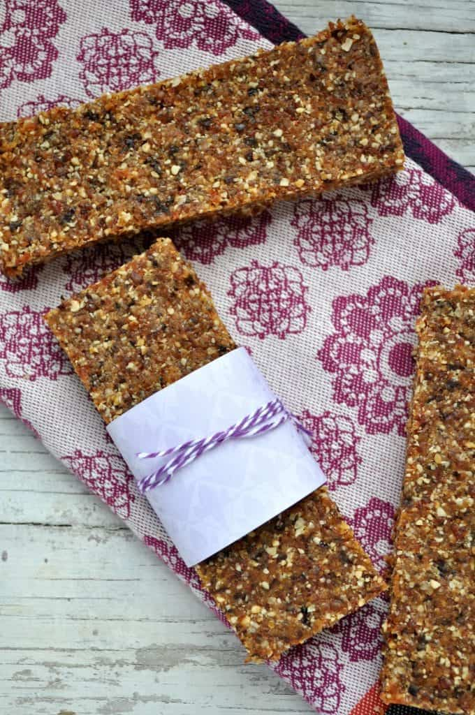 No Bake Peanut Butter and Jelly Bars 3