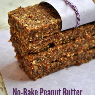 5-Minute No-Bake Peanut Butter and Jelly Bars
