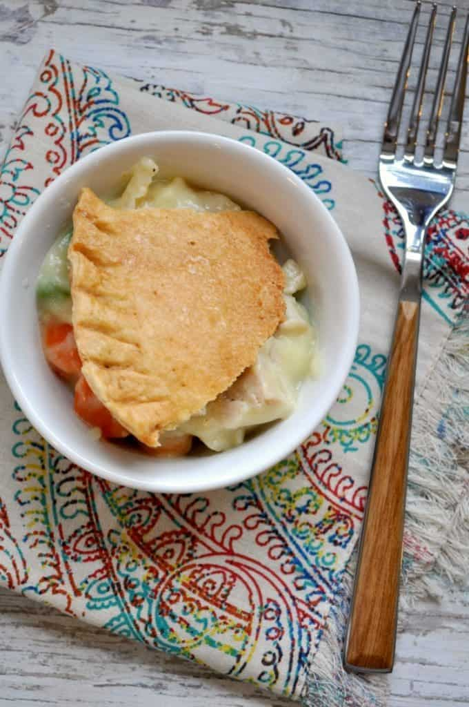 Pot Pie in Bowl