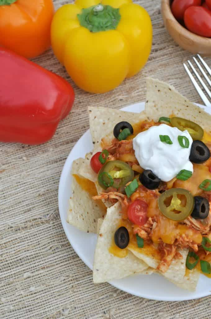 Slow Cooker Chicken Nachos 2
