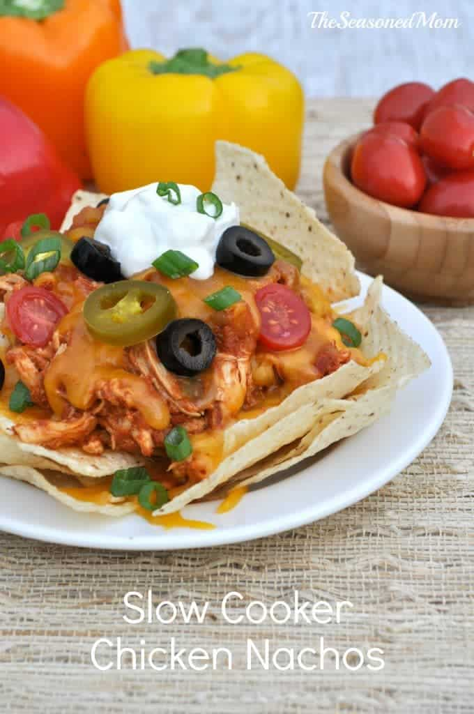 Slow Cooker Chicken Nachos 5