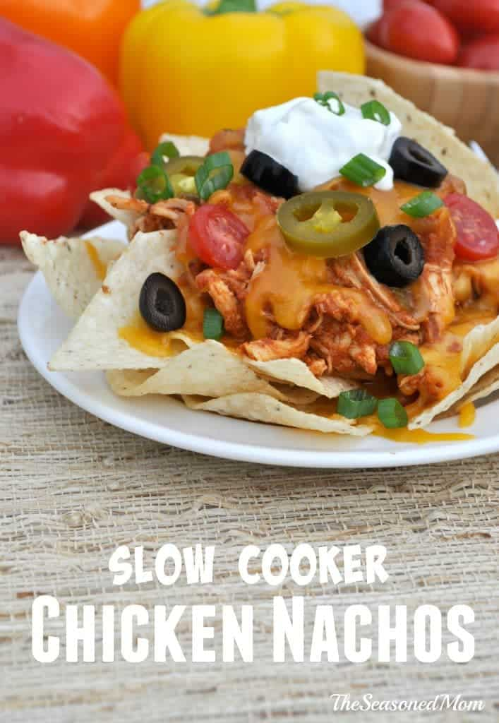 Slow Cooker Chicken Nachos [Tried & True-ly Yummy!]