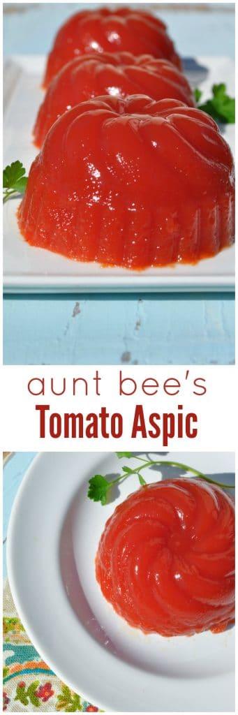 Aunt Bee's Tomato Aspic