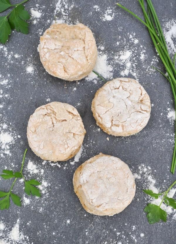 Italian Herb & Parmesan Greek Yogurt Biscuits 3