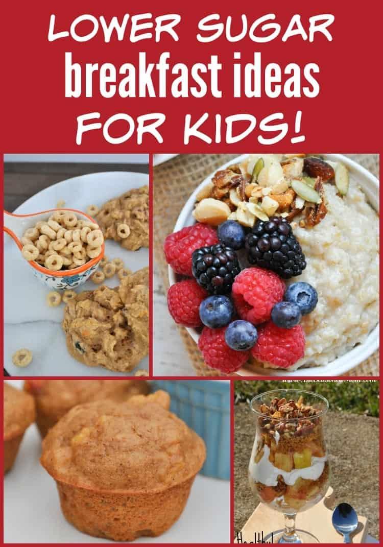 Lower Sugar Breakfast Ideas for Kids