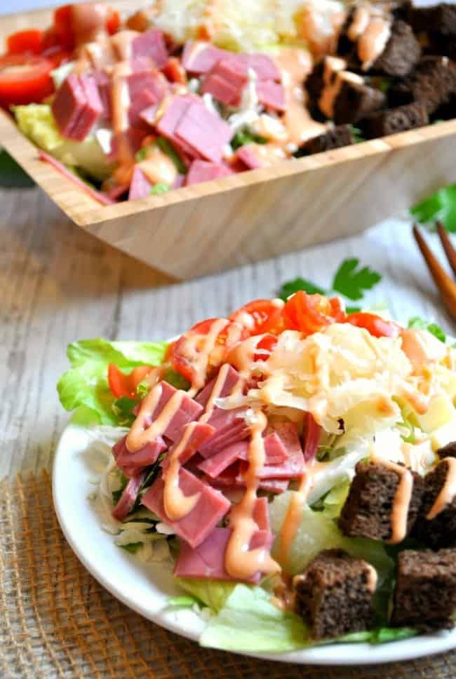 Reuben Salad 2