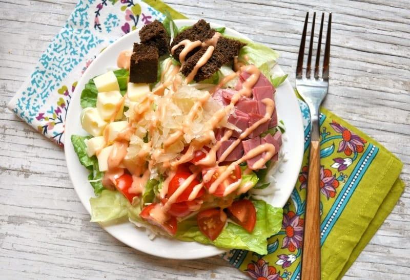 Reuben Salad 3