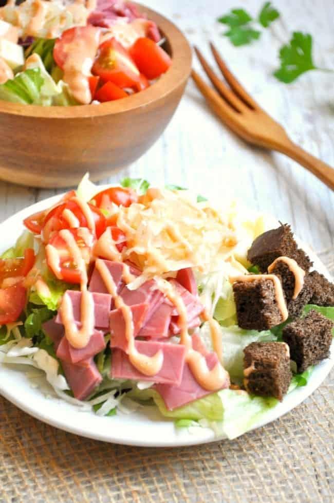 Reuben Salad 4