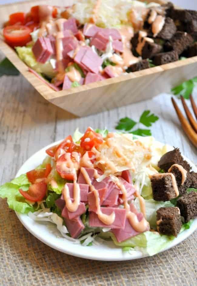 Reuben Salad 5