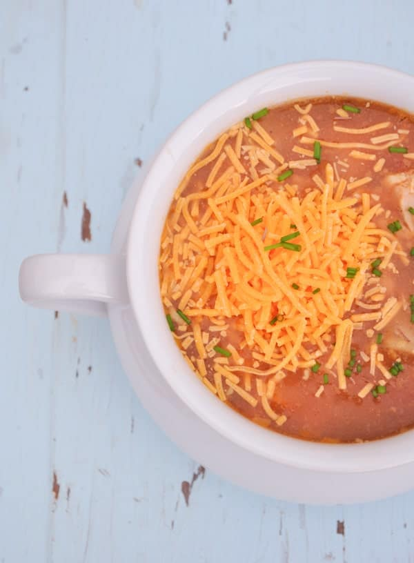 Slow Cooker Barbecue Chicken Soup 2