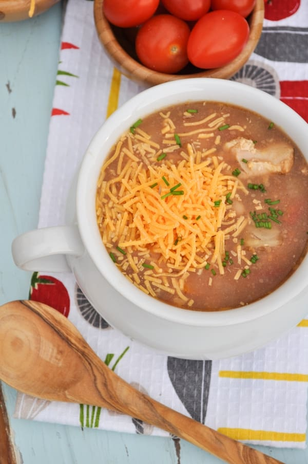 Slow Cooker Barbecue Chicken Soup 3