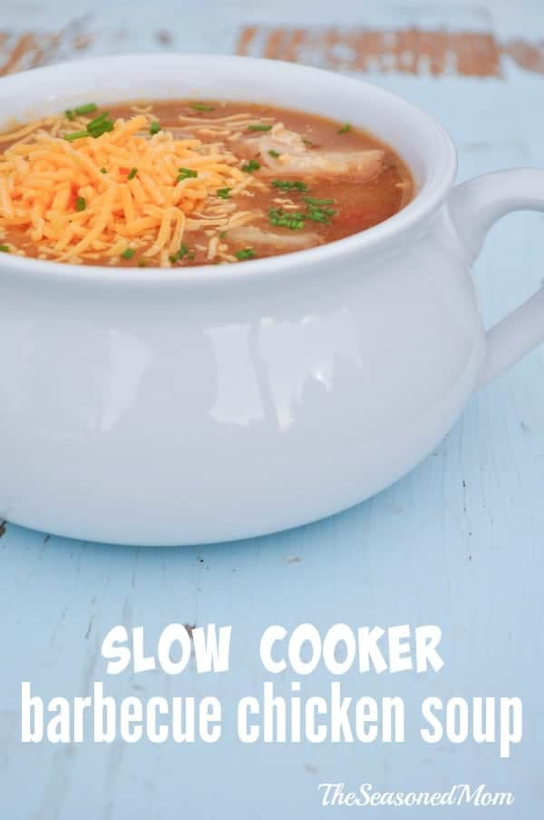 Slow Cooker Barbecue Chicken Soup 4