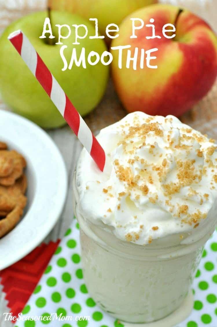 Apple Pie Smoothie Text
