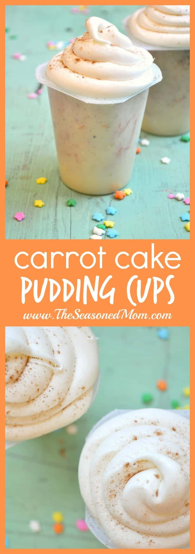 Carrot Cake Pudding Cups