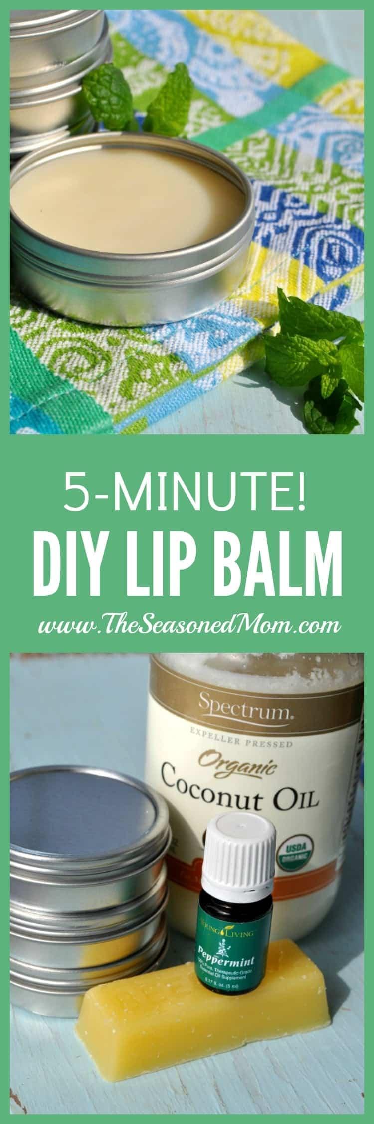 5 Minute Makeup Must Haves: 5-Minute DIY Lip Balm