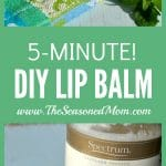 5-Minute DIY Lip Balm