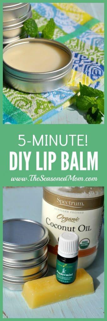 5-Minute DIY Lip Balm