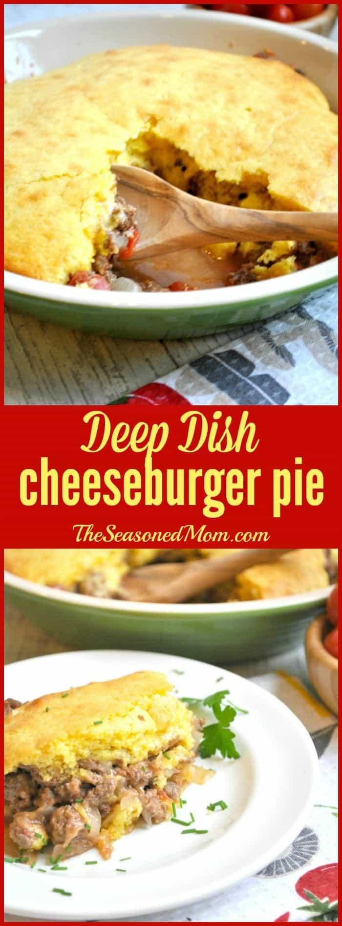 Deep Dish Cheeseburger Pie 1