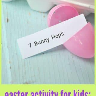 Easter Activity for Kids: Easter Eggs-ercises