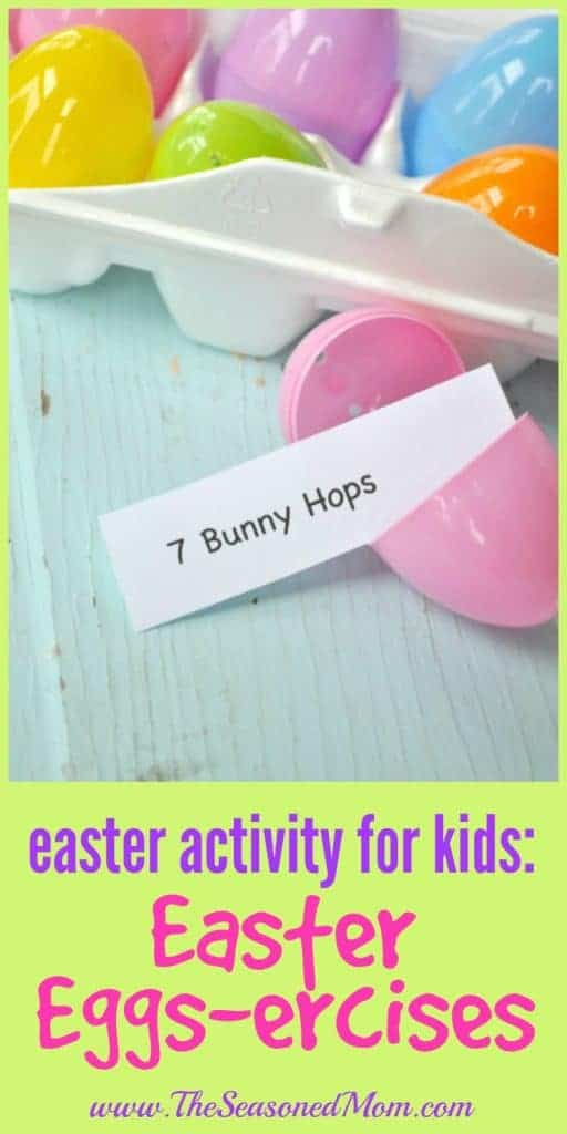 Easter Activity for Kids: Easter Eggs-ercises