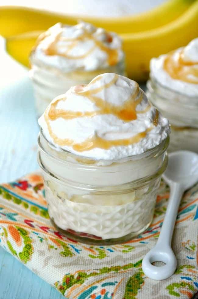 Healthy Banana Pudding 1
