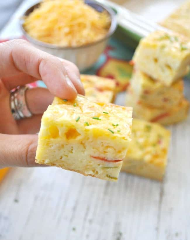 Chile Cheese Squares 10