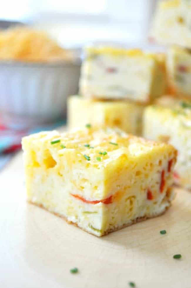 Chile Cheese Squares 4