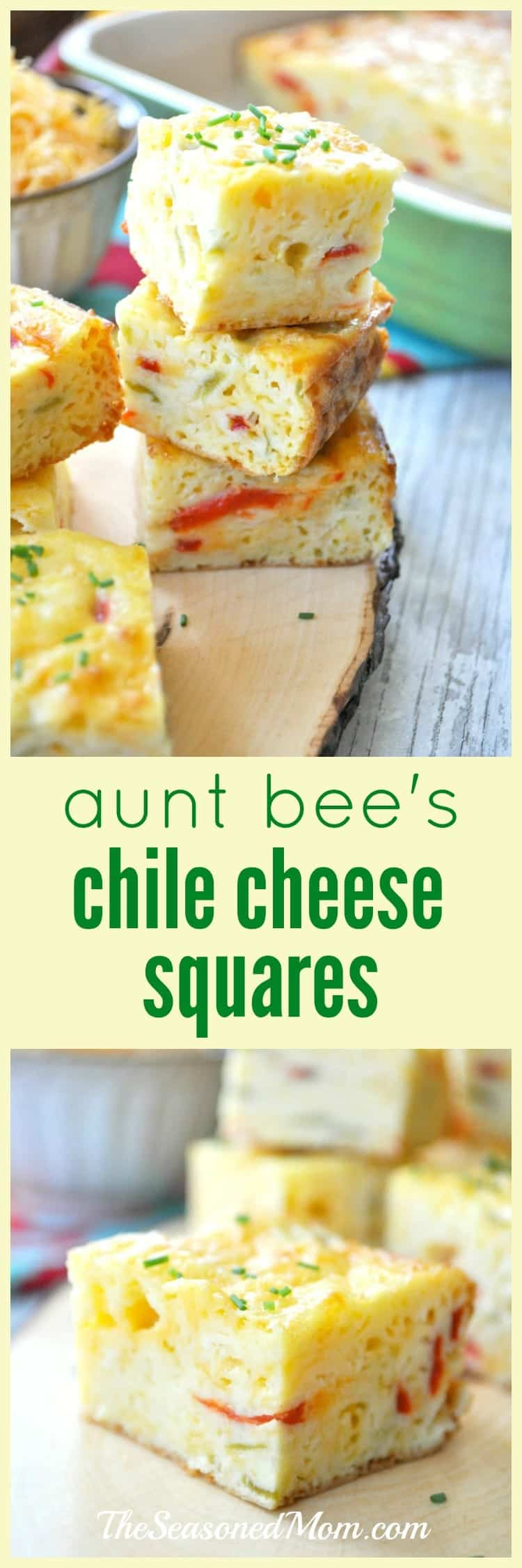 Chile Cheese Squares