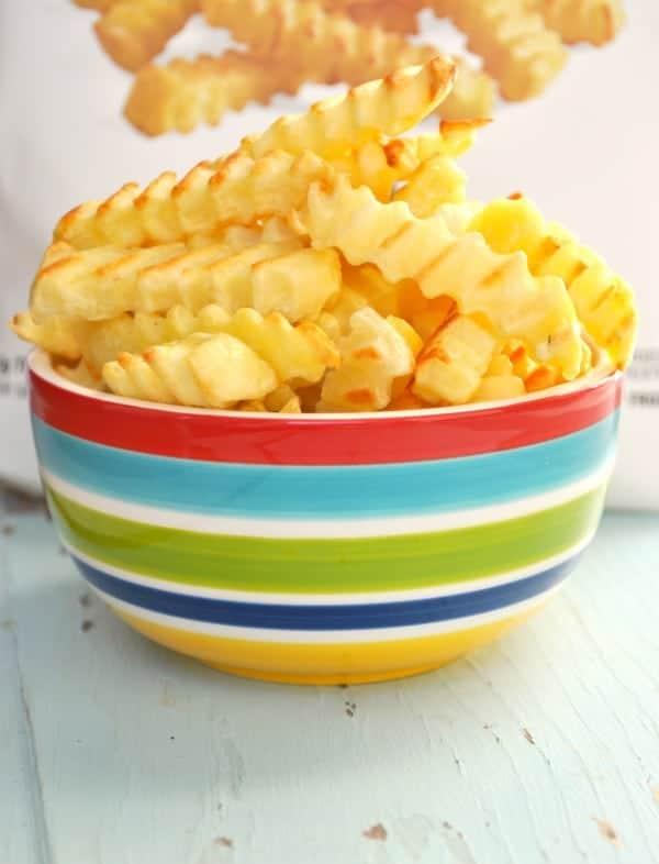 Fries Up Close
