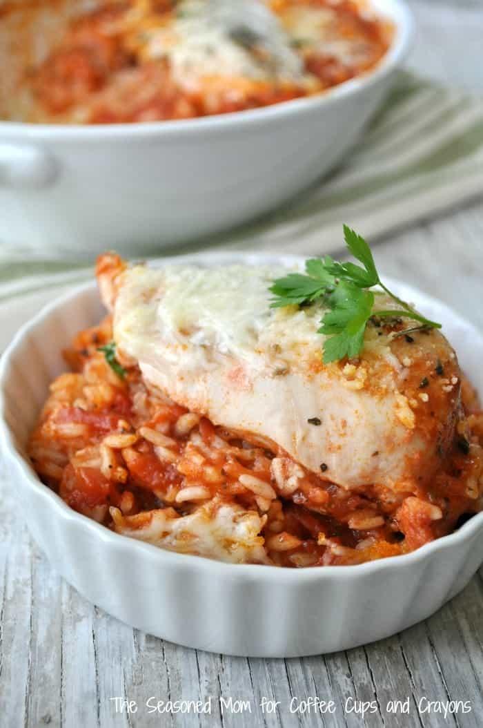Italian Chicken and Rice 10
