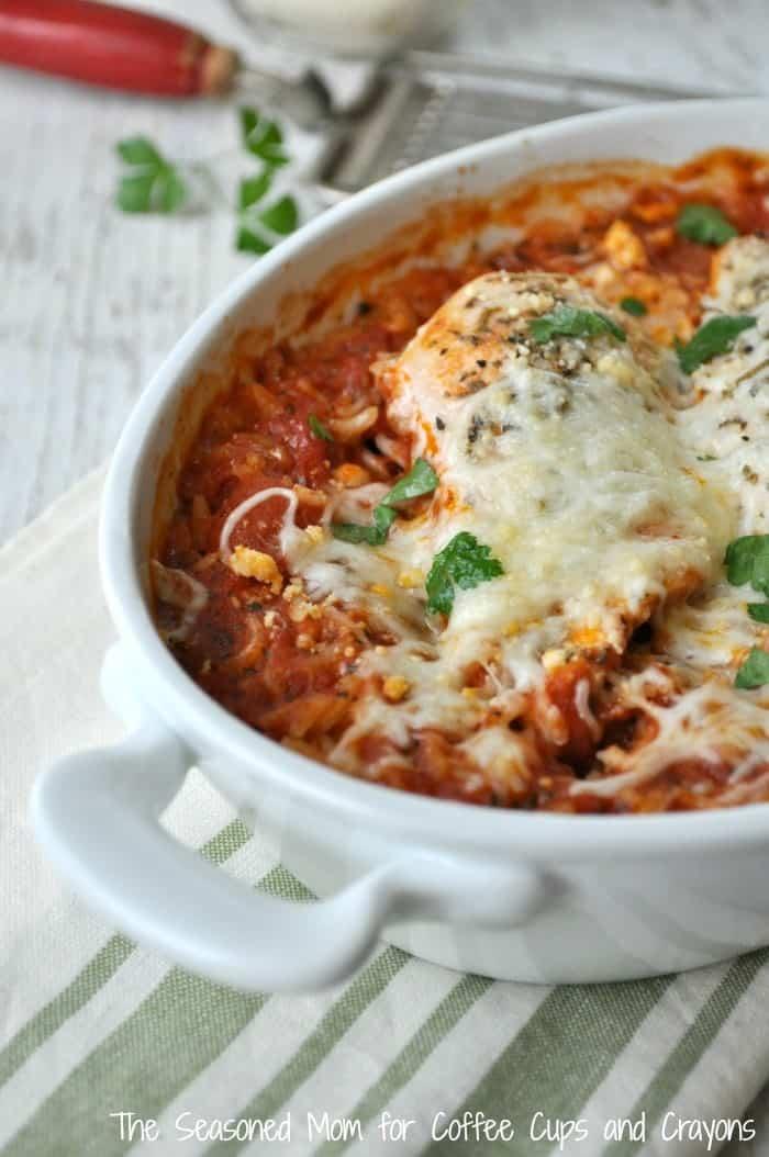 Italian Chicken and Rice 5