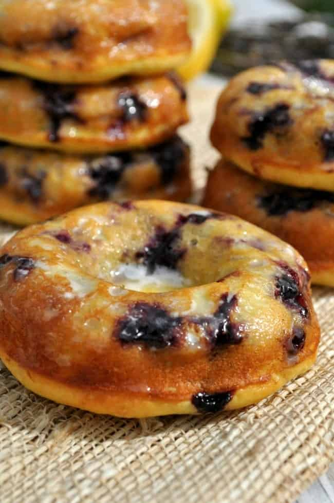Lemon Blueberry Donuts 5