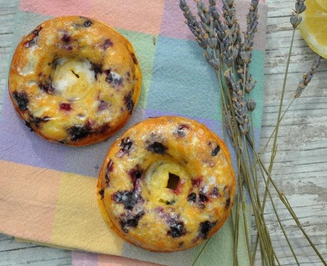Lemon Blueberry Donuts 8