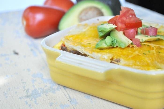 Mexican Breakfast Casserole 2