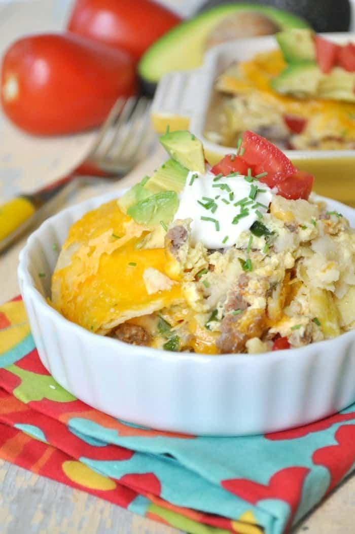 Mexican Breakfast Casserole 4