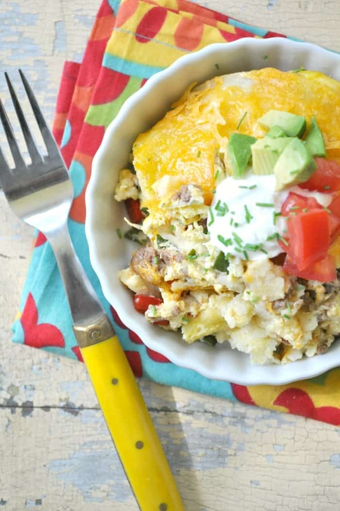 Mexican Breakfast Casserole 7