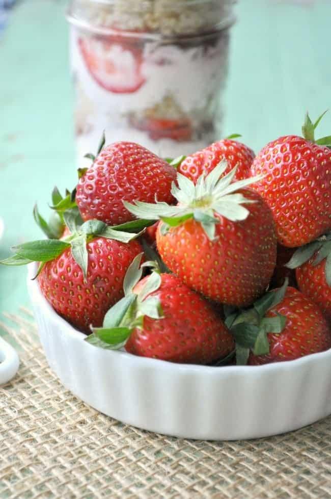 Overnight Strawberry Quinoa Parfait 9