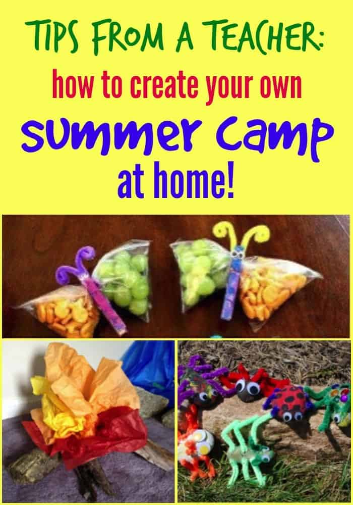 Summer Camp at Home