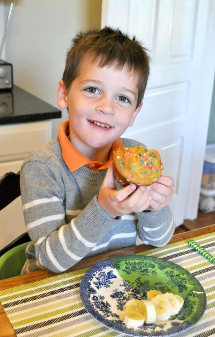 Birthday Cake Muffins 3