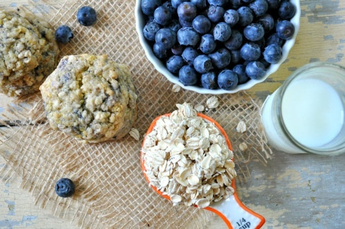 Blueberry Muffin Oatmeal Cookies 5
