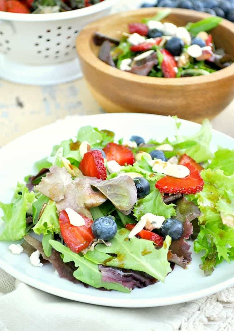 Red White and Blueberry Salad 6