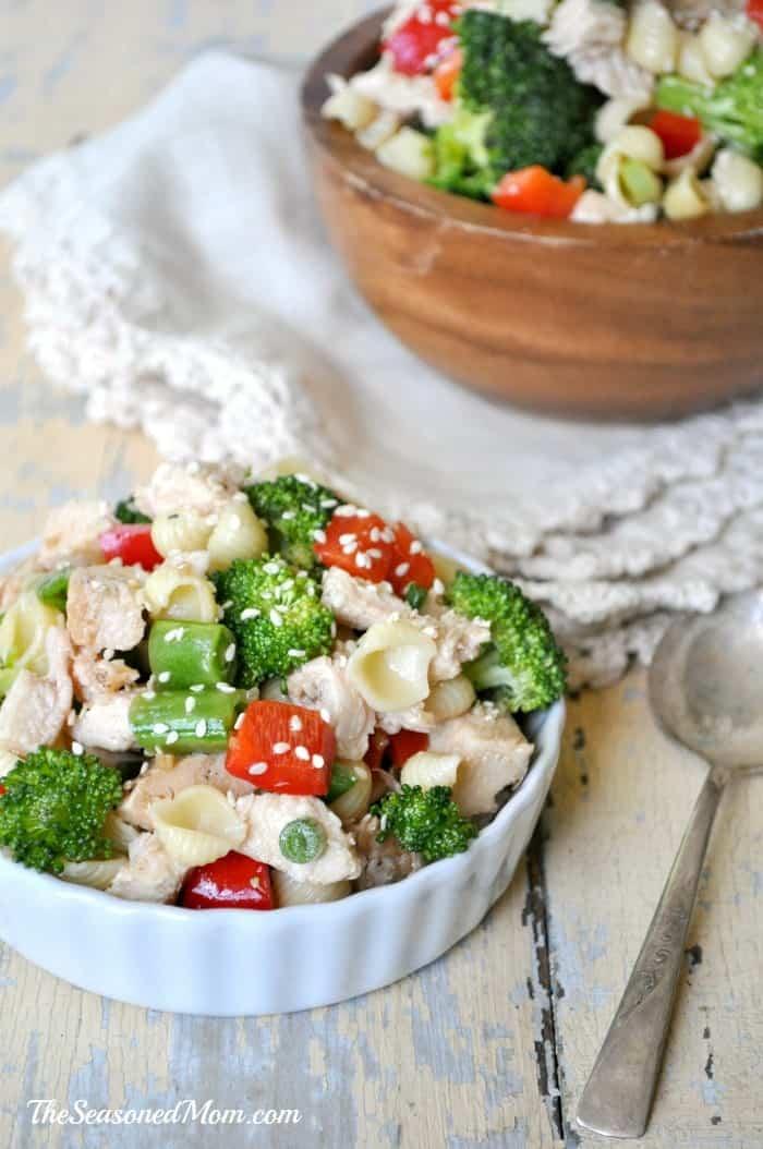 Sesame Chicken Pasta Salad 7