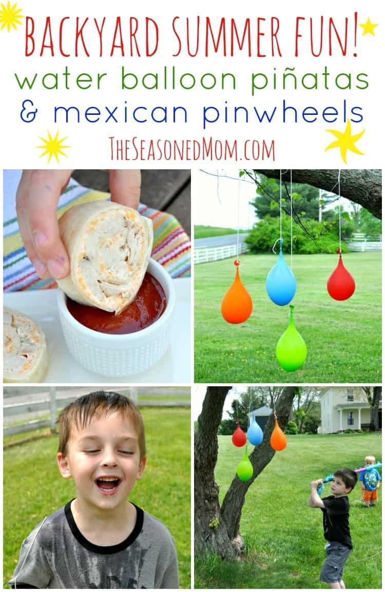 Water Balloon Pinatas Collage