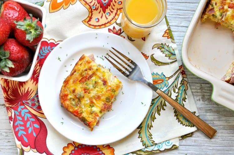 Baked Western Omelet 8