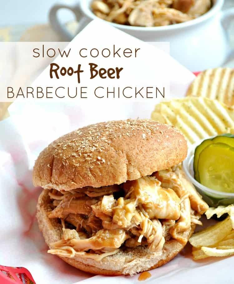 Slow Cooker Root Beer Barbecue Chicken 4