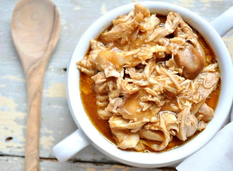 Slow Cooker Root Beer Barbecue Chicken 5