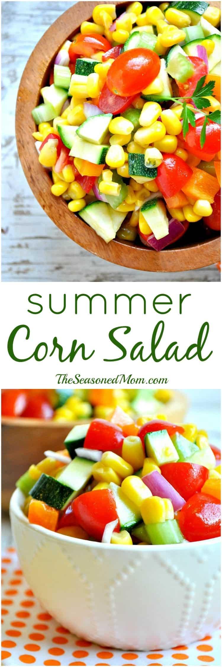 Summer Corn Salad - The Seasoned Mom
