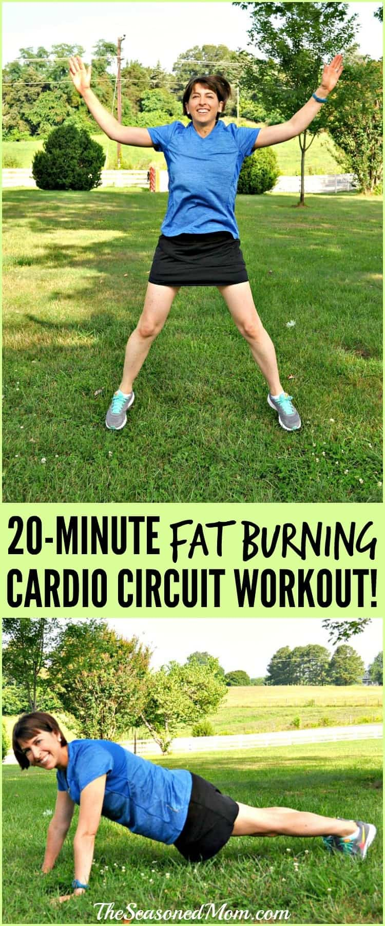 20 Minute Fat Burning Cardio Circuit Workout